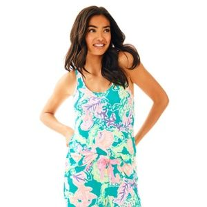 Lilly Pulitzer Shell Search Knit PJ Tank Top